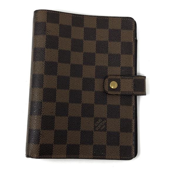 Louis Vuitton Handbags - Louis Vuitton Damier Ebene Medium Agenda MM